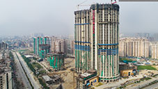Construction Reached 46 floors